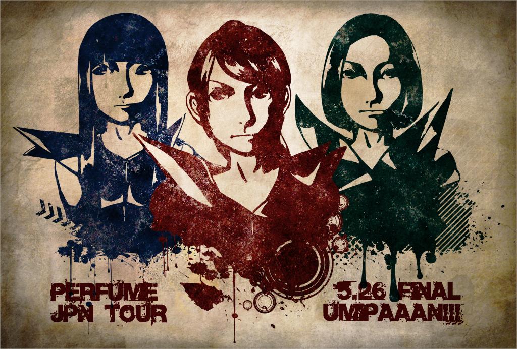 TOUR FINAL!!! JPNツアー沖縄限定配布ポストカード