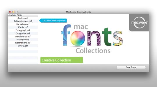Mac App Storeで使いやすそうなフォントが無料セール中!