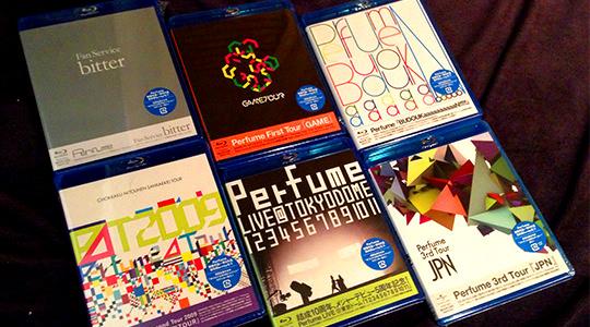 Perfume Blu-ray 6本一挙レビュー!
